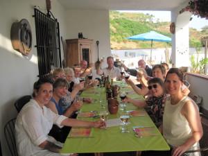 Farewell Dinner at Casa Maria.