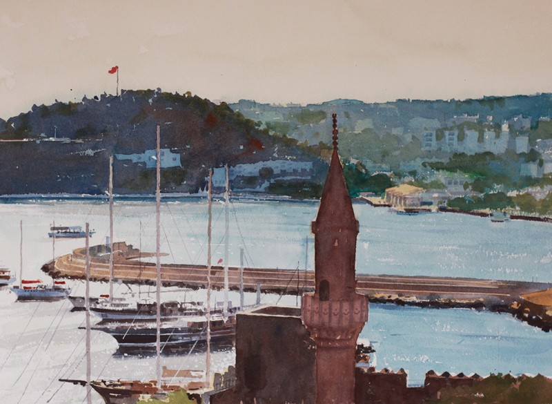 kevin scully harbour at bodrum